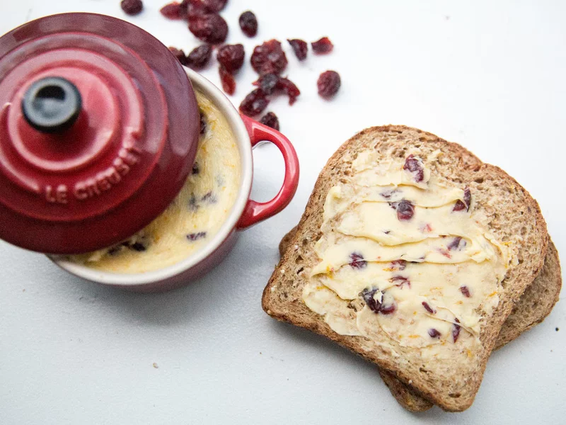 Smear Orange-Cranberry Honey Butter on Every Carb You Can Find