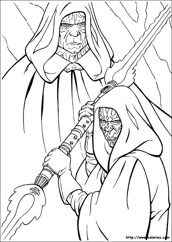 coloriage dessins dessins imprimer et la couleur en ligne star wars 18 - Dessin De Star Wars