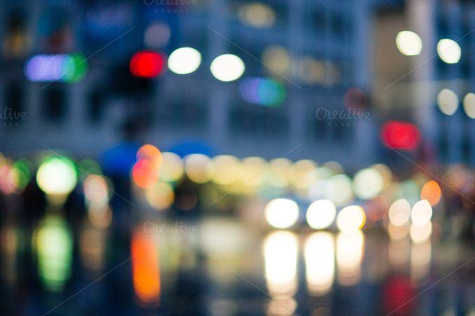 Sydney rain day bokeh by HBStocks on @creativemarket
