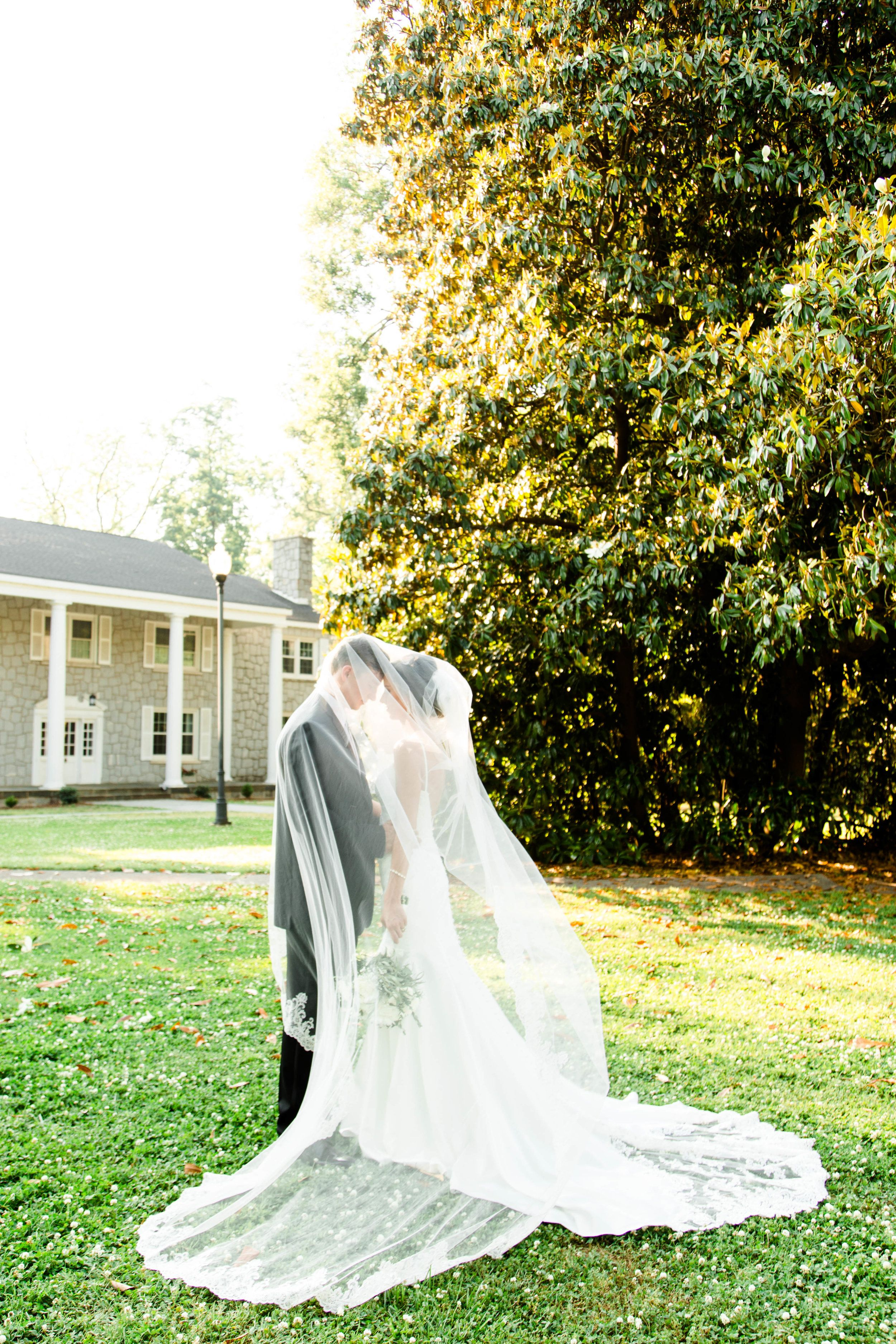 Gold white wedding dress  SPRING WEDDING AT THE LAURENS COUNTY MUSEUM  Gold  White Wedding