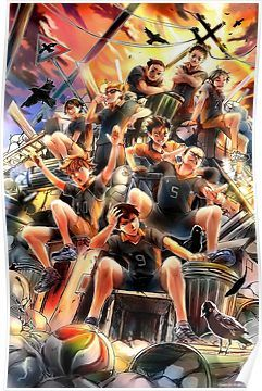 Haikyuu - Karasuno Team Poster