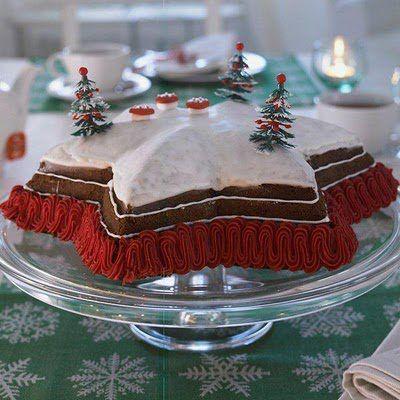 #Culinária | #Receita de Bolo De Natal Em Estrela  #NREntertain | O Melhor Do #Entretenimento