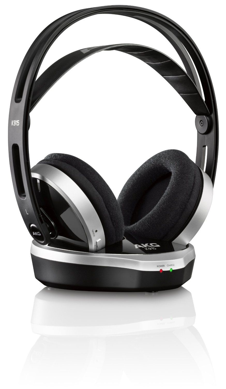 Akg K 915 Stereo Surround Wireless Headphones Amazon Co Uk Electronics Headphones Akg Over Ear Headphones