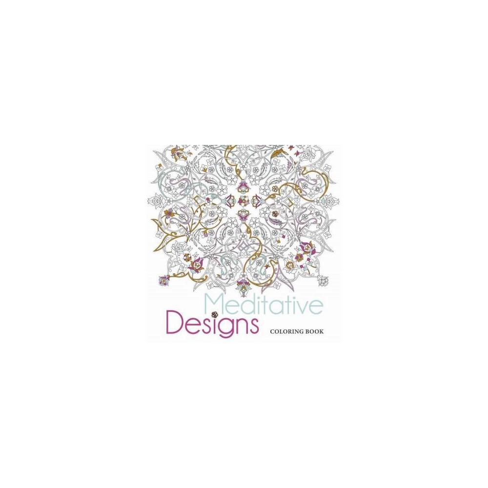 Meditative Designs Adult Coloring Book
