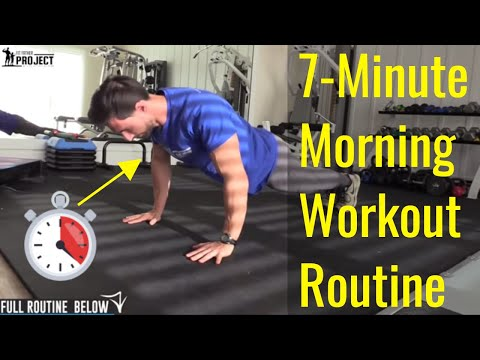 10 7minute morning workout routine for men boost your