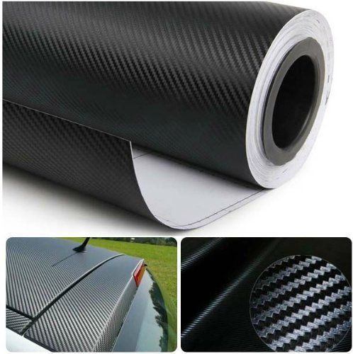 3d/4d carbon #fibre vinyl wrap self adhesive air/bubble free #black #multi sizes ,  View more on the LINK: http://www.zeppy.io/product/gb/2/252387886027/