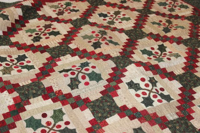 christmas quilt from ann s word