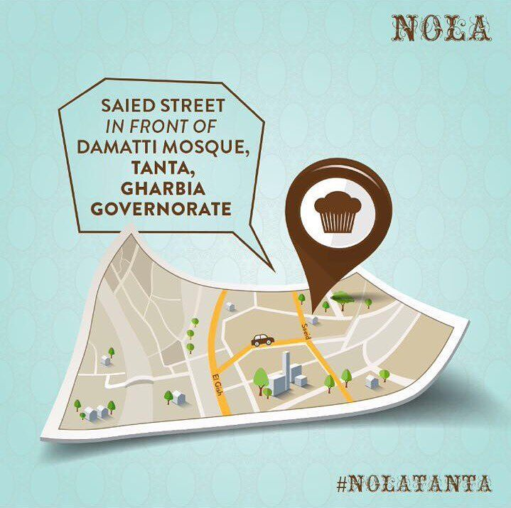 Visit our NOLA branch in TANTA and indulge in our delicious sweets ...