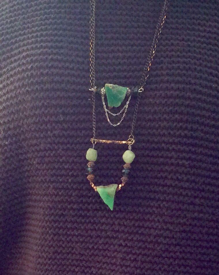 Beautiful necklace artist Barbara Turnbull Disbrow