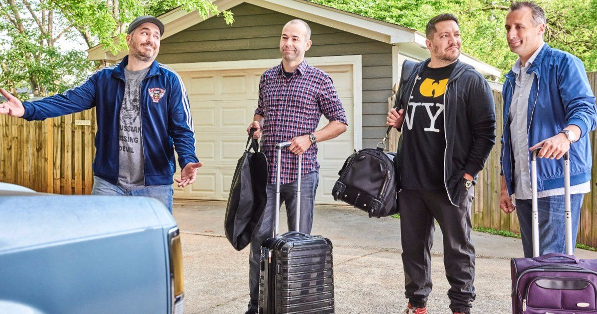 The Movie Trailer Hits The Road with Murr, Q, Joe and Sal