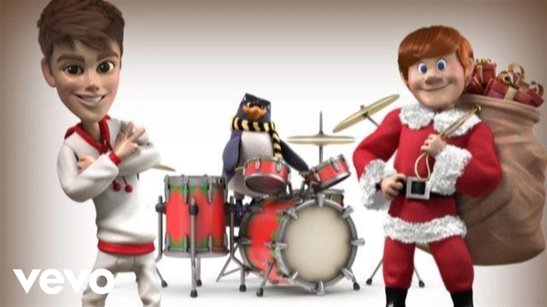 Justin Bieber Santa claus is coming to town, Justin