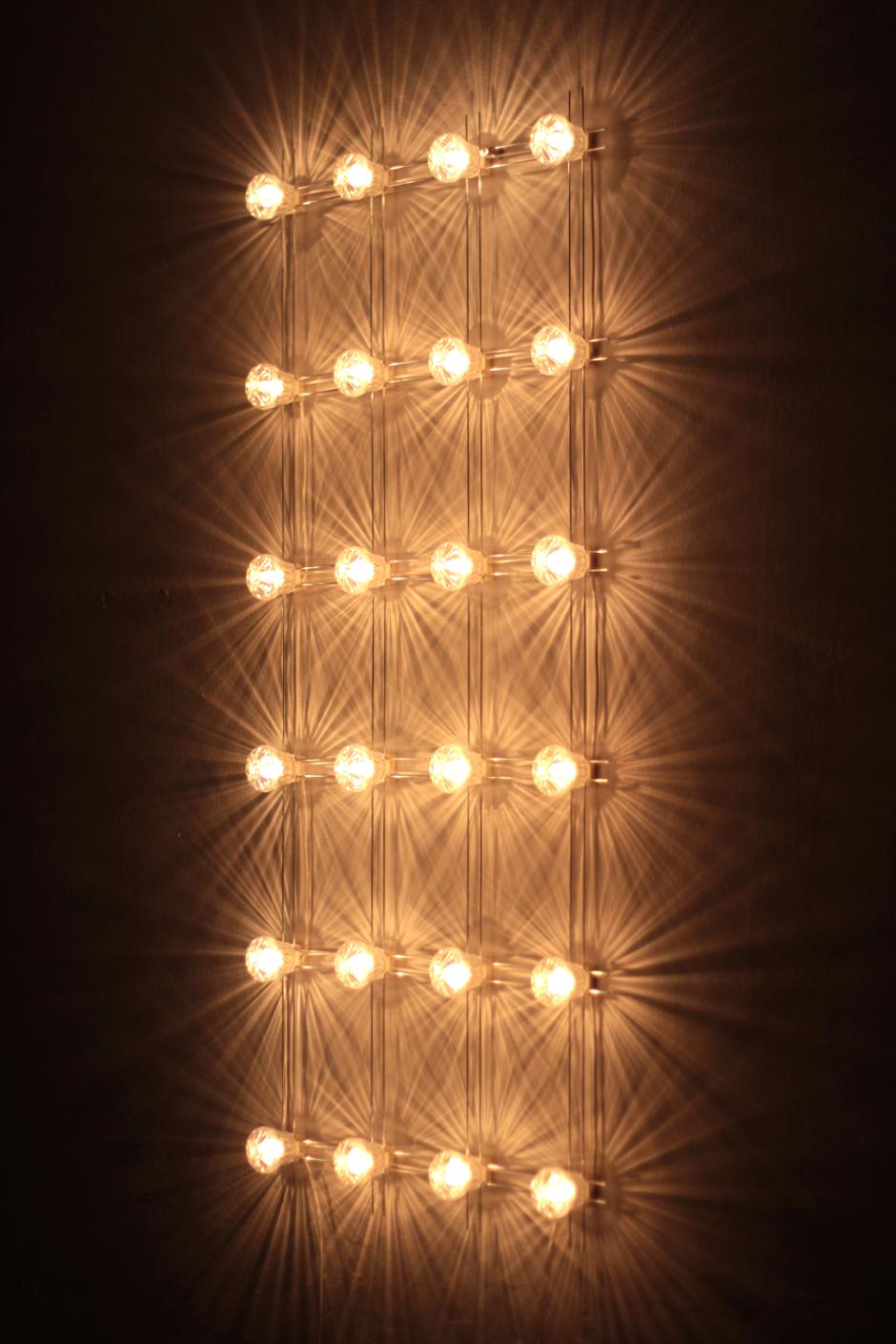 Constellation Daniel De Bruin Via Crowdyhouse Wall Of Light Wall Lights Light Grid