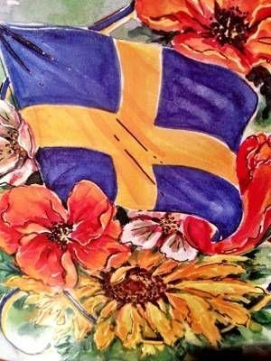 Swedish flag day 2012, National Day of Sweden