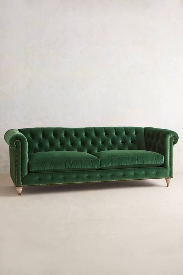 Anthropologie Lyre Chesterfield Sofa on shopstyle.com.au