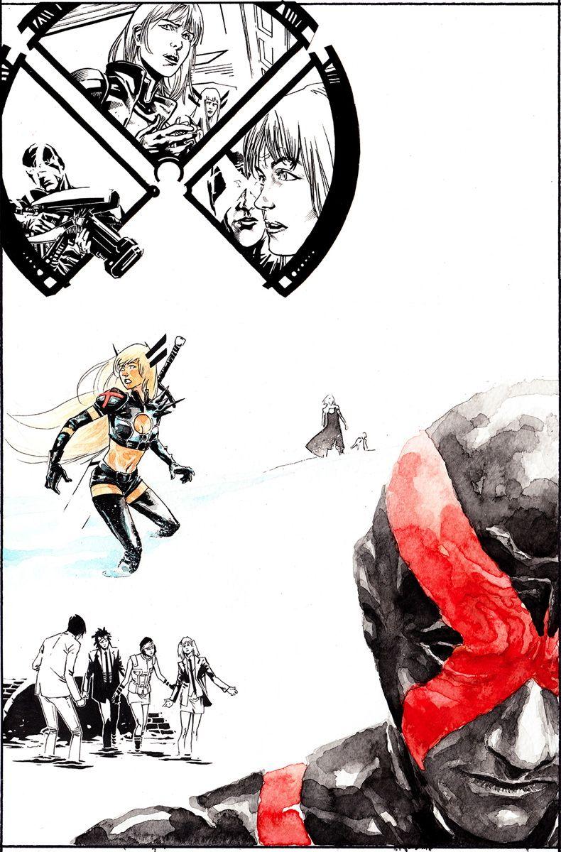 Uncanny X Men 18 March 2014 Brian Michael Bendis W Marco Rudy A Cover By Alexander Lozano Cyclops Finds Himself In X Men Comic Art Marvel Comics Art