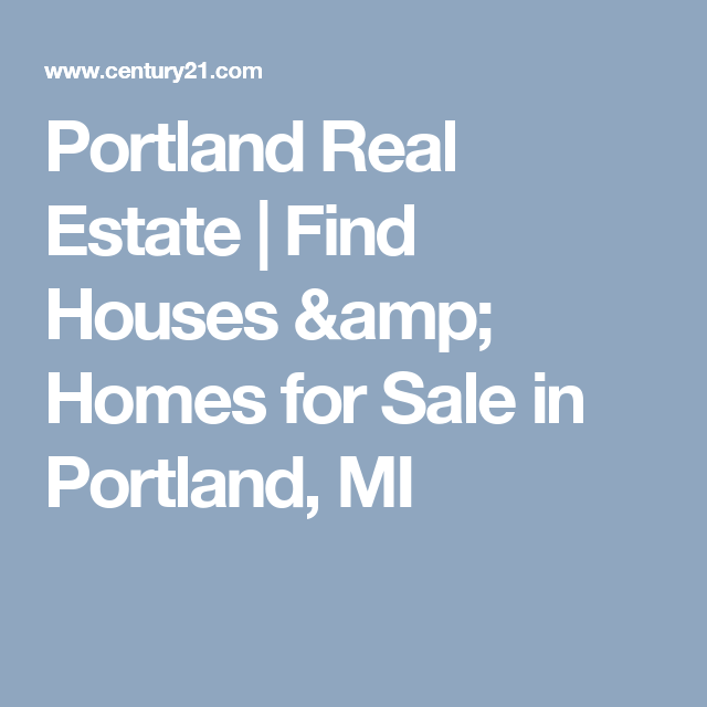 Portland Real Estate Find Houses Homes For Sale In Portland Mi