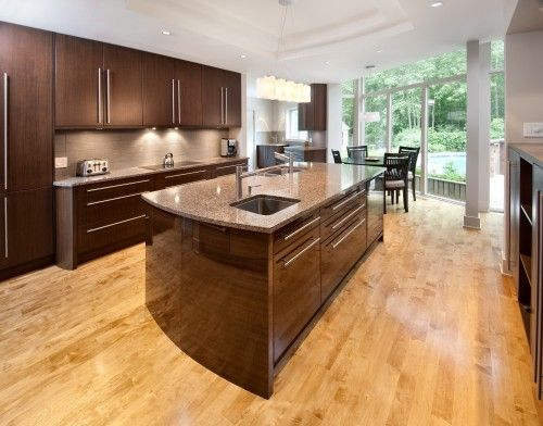 Best Dark Cabinets Paired With Blonde Flooring For The Home 640 x 480