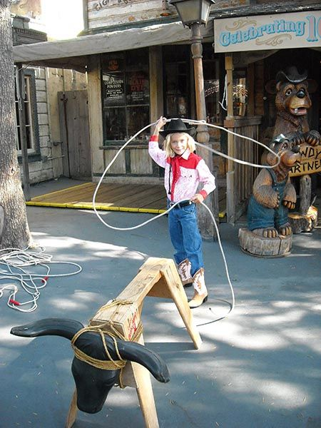 Calf Roping Lessons Make A Great Western Party Activity