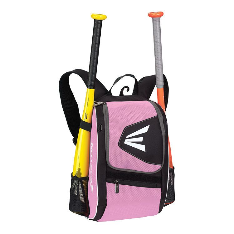 Easton E100p Black Pink Player Equipment Backpack Baseball Softball Bag New