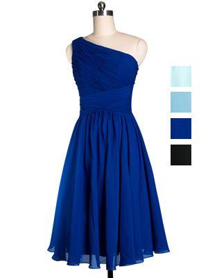 Blue Bridesmaid Dresses Junior Dress Formal Short Bluedark