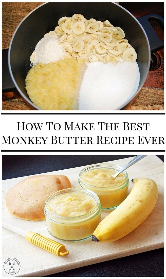 How To Make The Best Monkey Er Recipe Ever This Spread Is A Delightful Combination Of Bananas Pinele Coconut And Citrus That I M Finding