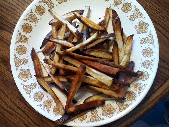 The News-Herald Blogs: Mission: Pinpossible: Gwyneth Paltrow recipe offer guilt-free French fries crazy easy to make