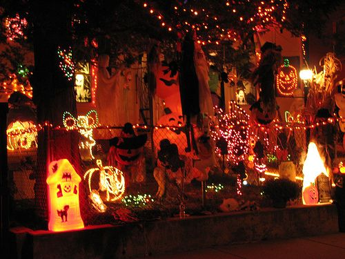 Scary Halloween Decorating Ideas Halloween ideas Pinterest