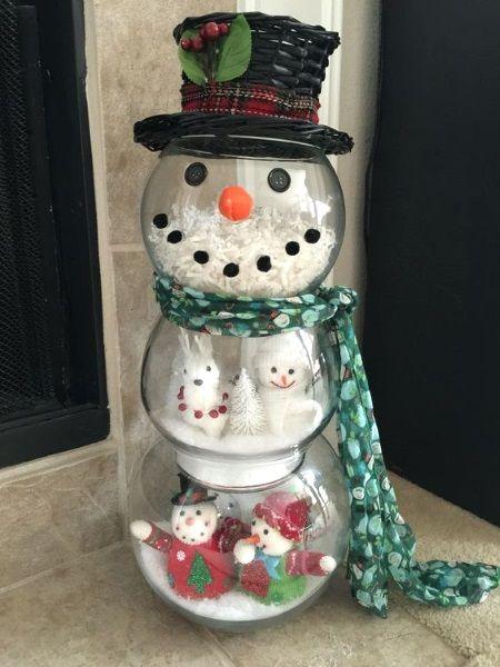 50 Best Diy Snowman Christmas Decoration Ideas Snowman Christmas Decorations Diy Christmas Snowman Christmas Crafts