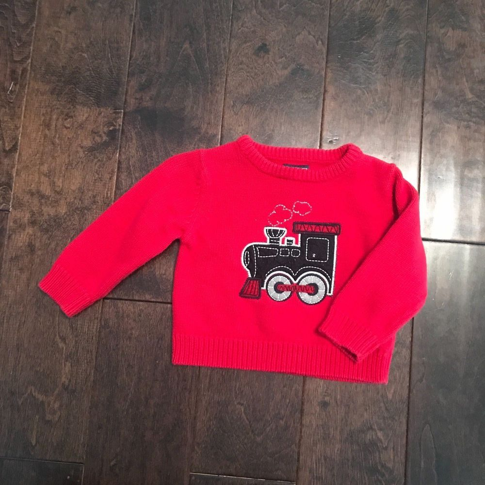 b15cde250797 Ohs Kosh Bgosh Toddler Boy Red Sweater Size 18 Months  fashion ...