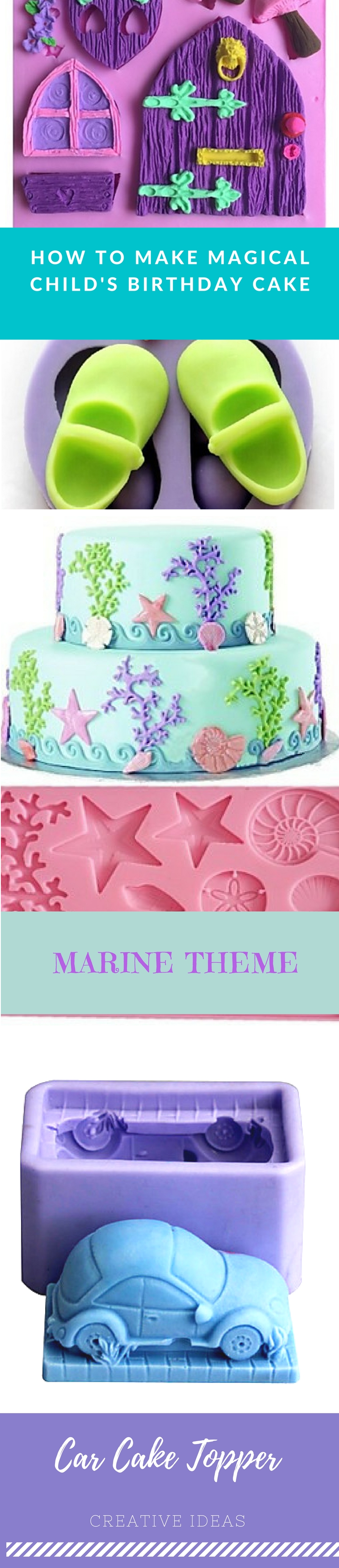 Can't decide which theme to choose for your kid's birthday? Grab some inspiration with this magical fairy tale theme. Have a look at all baking molds we have to turn your cake into a masterpiece. Click on the picture to see them all.