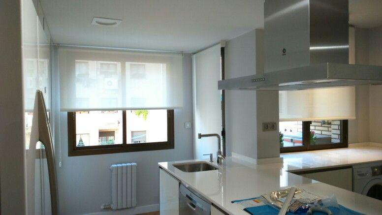 Screen para cocina estores enrollables cocinas estores enrollables y estores screen - Cortinas screen cocina ...