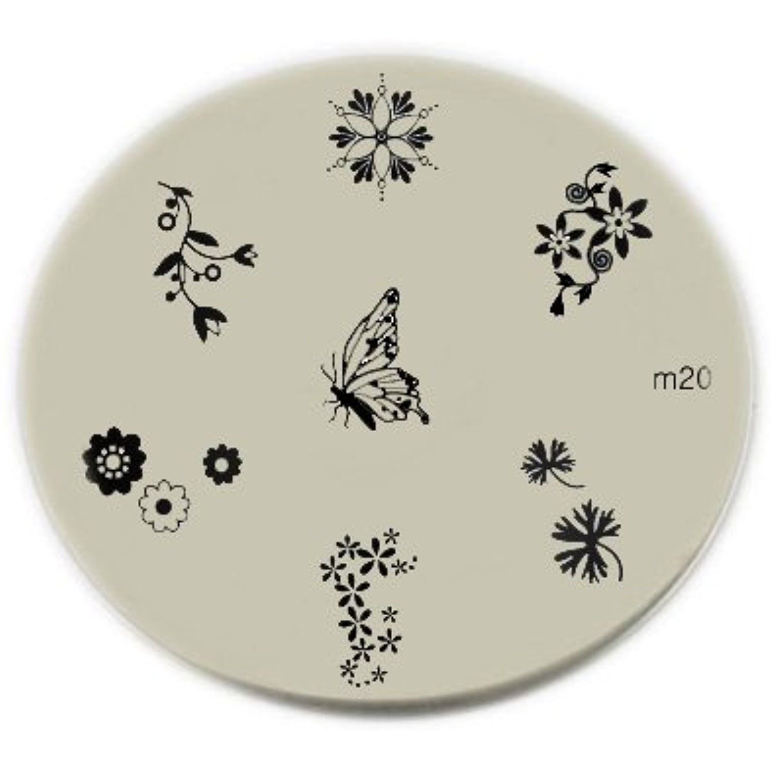 Konad stamping nail art image plate m you can find out more