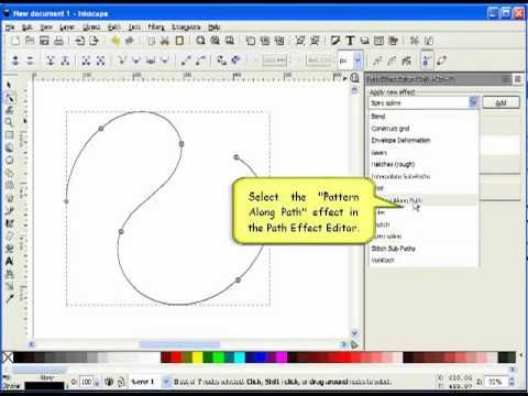 Inkscape beginner tutorial: Spiro Swirls and flourishes