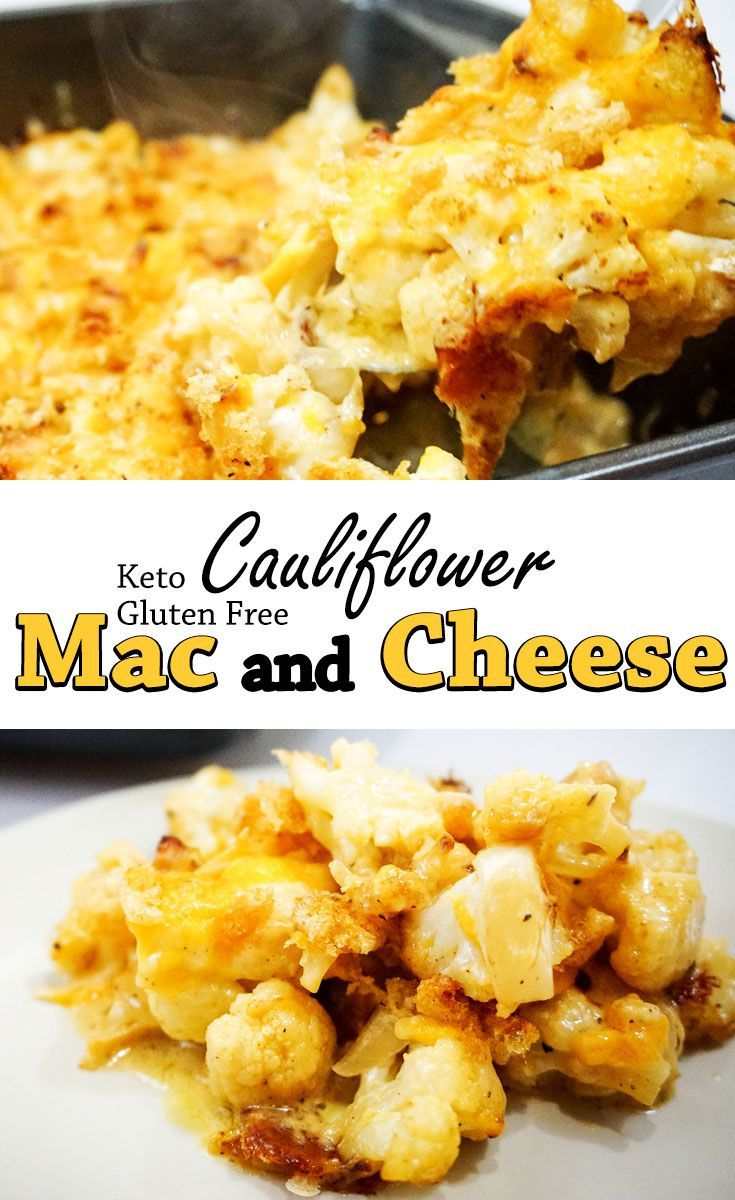 Cauliflower Mac And Cheese Recipe With Images Keto Mac And