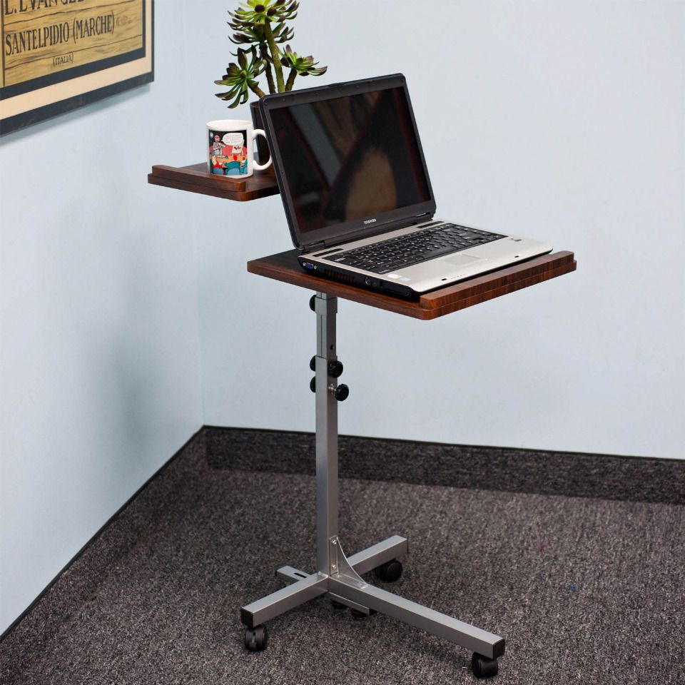 Trademark Two Shelf Laptop Utility Desk House styles