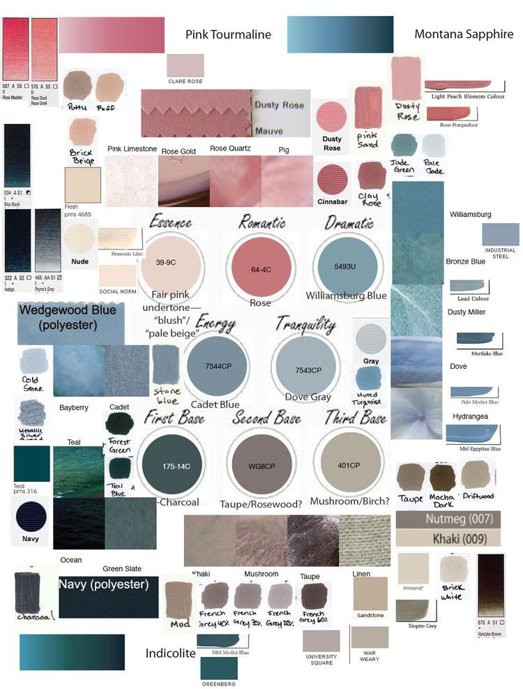 Pin By ColorstylePDX On Summer Type Colors And Style
