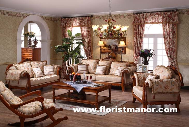 Solid Wood Living Room Furniture Sets Lots of more pix for home