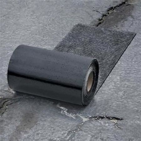 This Asphalt Driveway Repair Is Duct Tape For Black Top With