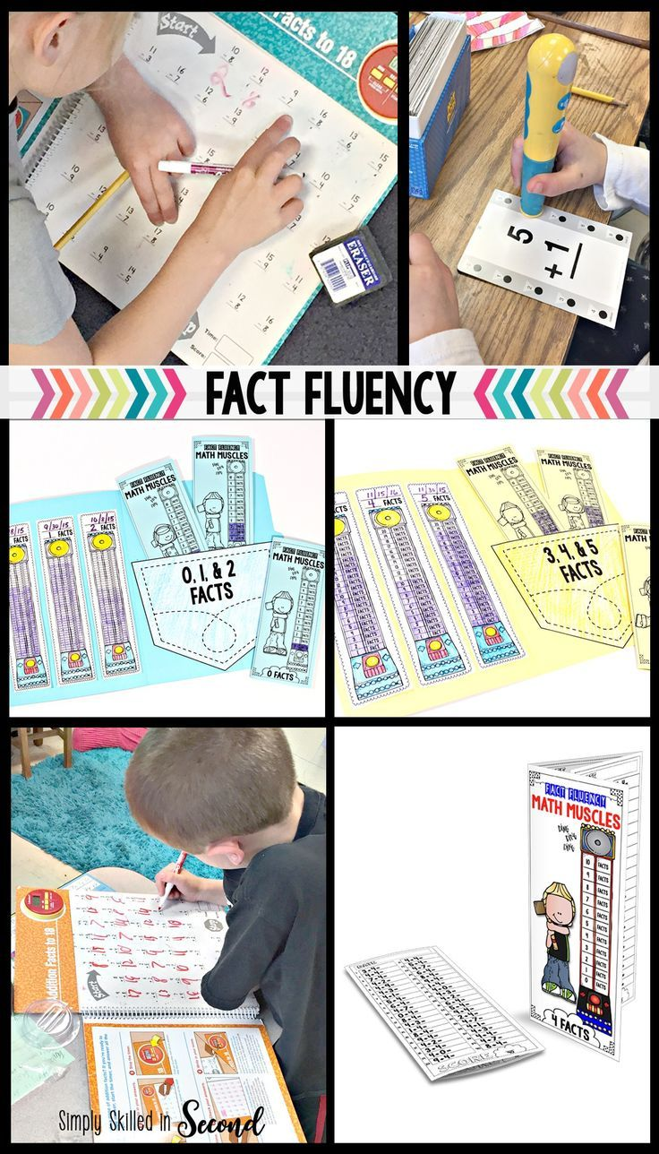 Guided Math: Fact Fluency   Guided math, Math facts and Math
