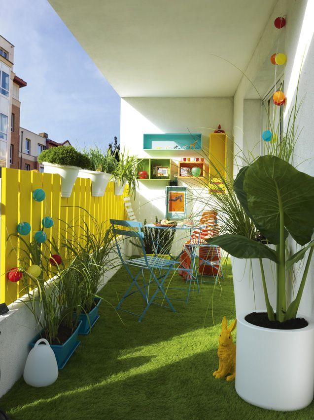 8 Idees Deco A Copier Pour Amenager Son Petit Balcon Avec Brio