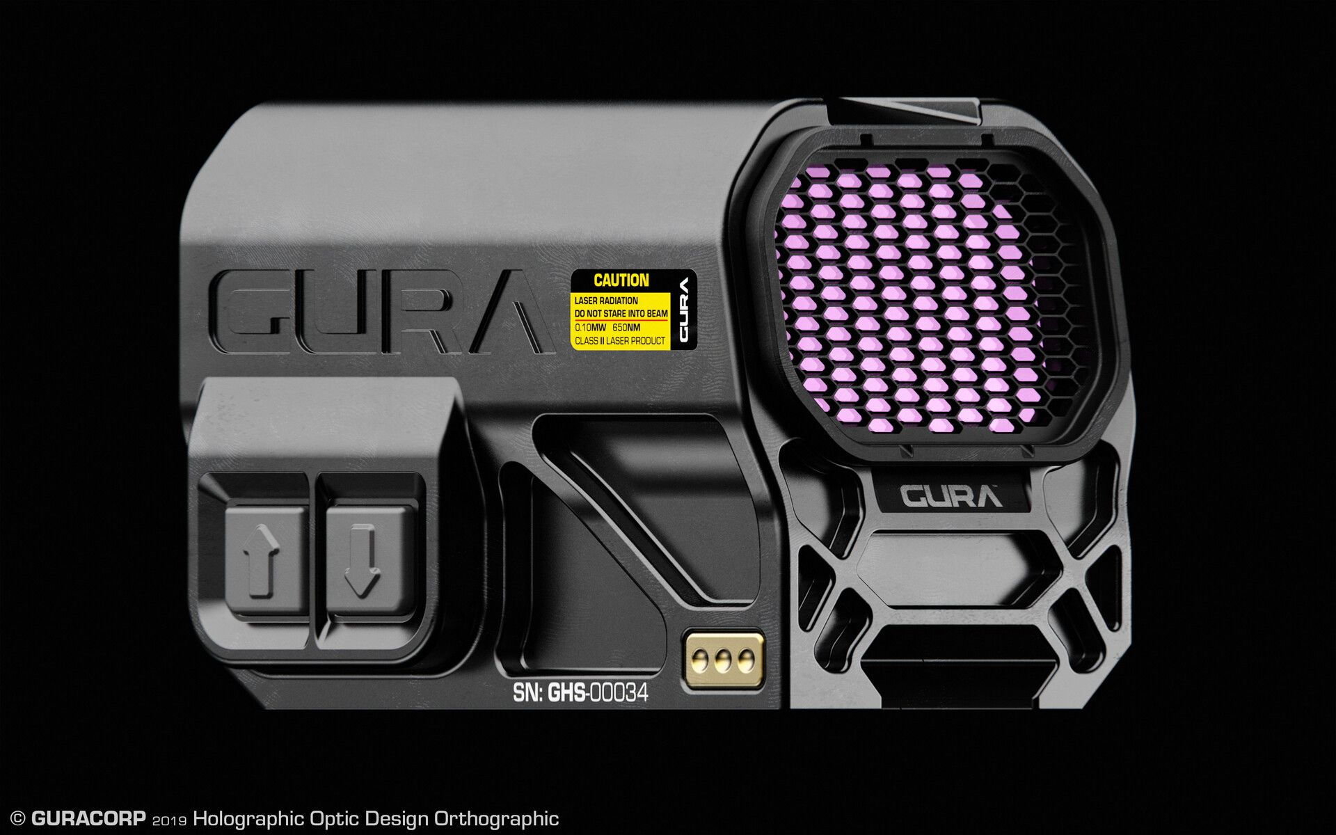 ArtStation GURA™ Holographic Sight Design, Edon Guraziu