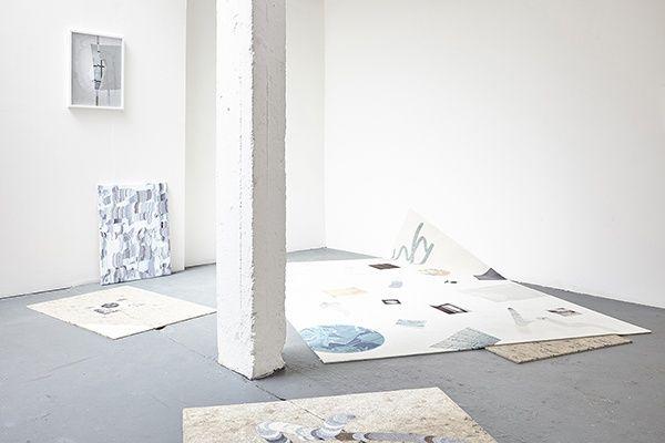 "Wendy Plovmand ""Wet Paint"" at NEW STUDIO, London, 2016"