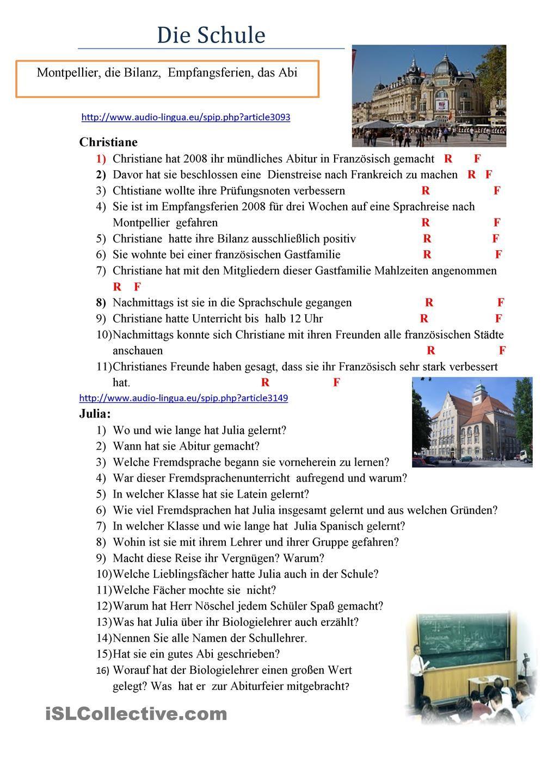 Schule | Deutsch | Pinterest | Schule und Deutsch