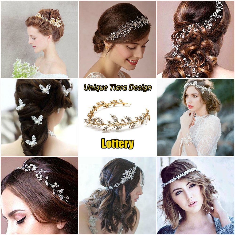 Unique Tiara Design Lottery!! 😱 😱 😱 Want to get the Most ...