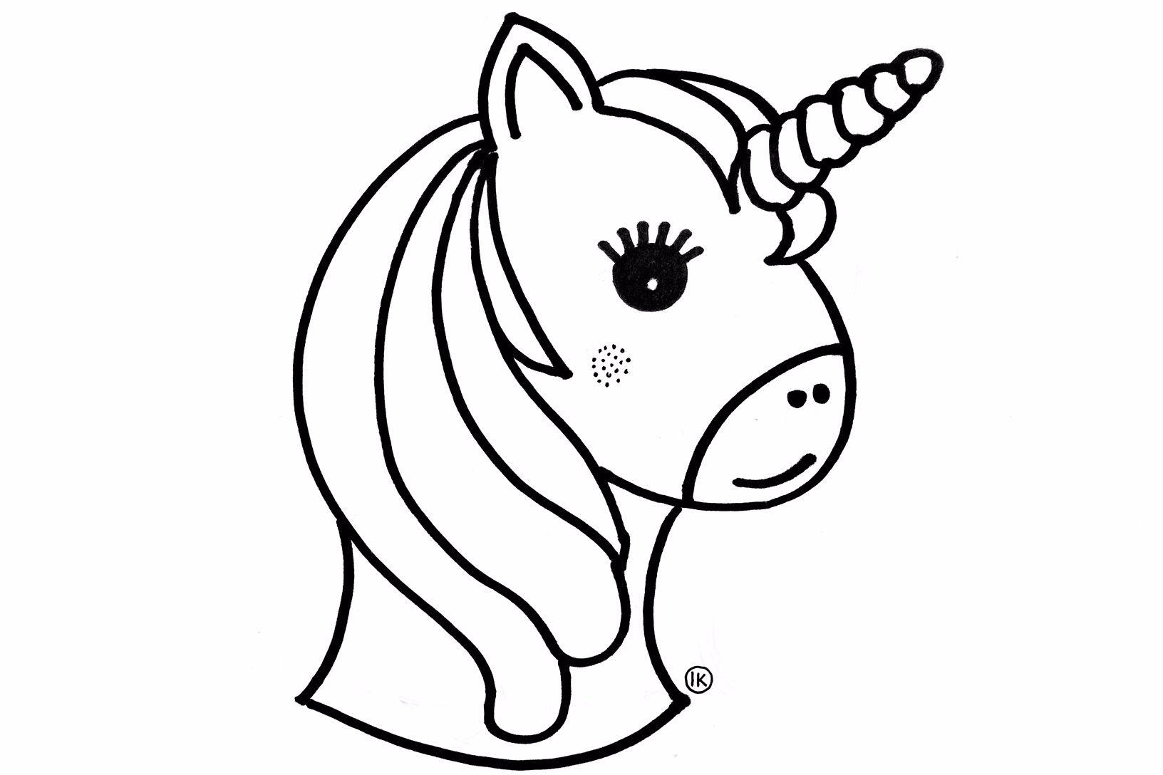 Kleurplaten Emoji Unicorn.Eenhoorn Unicorns Kleurplaten Kleurplaat Kleurplaten