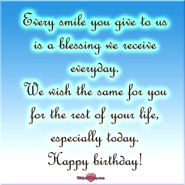 Inspirational Birthday Message For Child Son Images