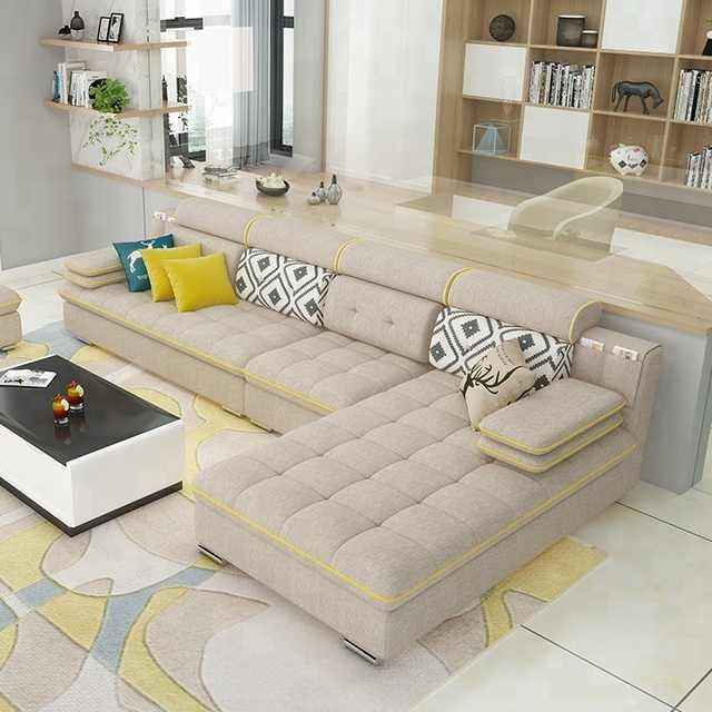 Source New Designs 2018 Top Quality Furniture Living Room Best Price Fabric New L Shap Living Room Sofa Design Modern Sofa Designs Furniture Design Living Room