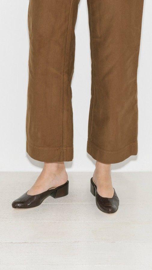 Mari Giudicelli Leblon Mules | The Dreslyn | Le Fashion