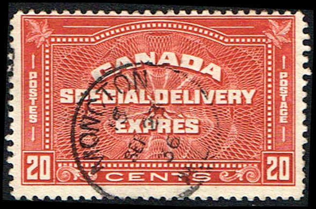 Canada E5 Stamp Special Delivery Stamp Na C E5 1 Used Son Stamp Vintage Stamps Special Delivery