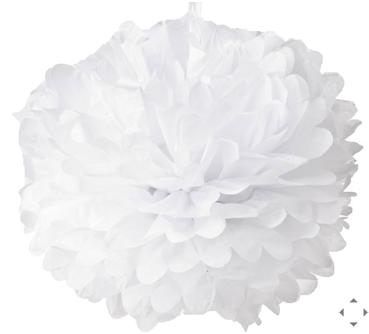 Pom Pom De Papel Branco Paper Flower Ball Tissue Paper Pom Poms Tissue Paper Flowers
